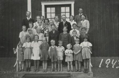 Söndagsskoleklass 1943