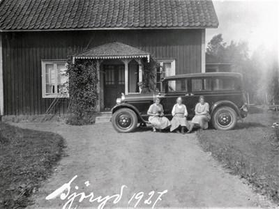 Besökare i Sjöeryd