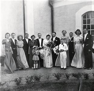 Bröllop i Bredestad kyrka