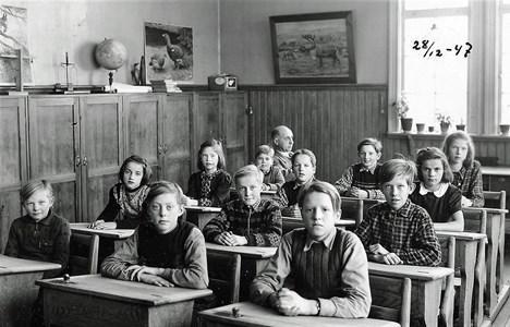 Klassfoto 1947
