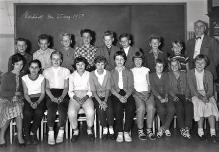 Klassfoto 1958