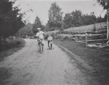 På cykelutflykt