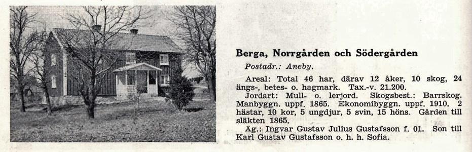 Berga Söder/ Norrgård