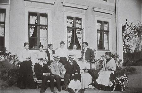 Besökare i  Wrangsjö