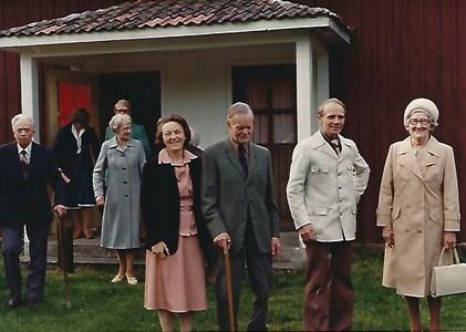 Jära missionshus troligen början av 1980-talet