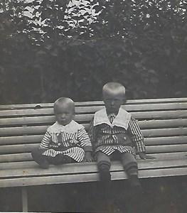 Åsen, gossarna Elof född 1910 och Filip född 1912