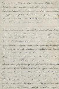 Predikan 1888 av David Sandén nedtecknad av 21 åriga Helena Johannesdotter