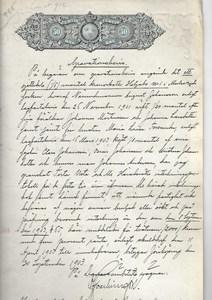 Helgabo 1:5 gravationsbevis 1903