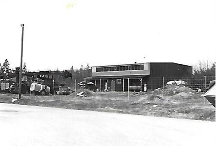 Jära Domänverkets rep.verkstad 1985