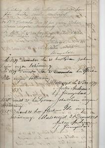 Mastenstorp förmyndarredovisning 1881 sid 2