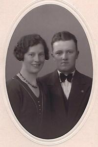 Mulseryd, Erik Rosén med hustrun Ella från Östergärdet