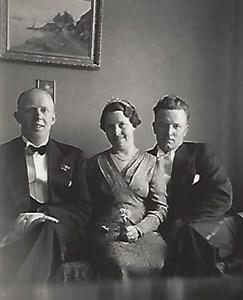 Ryd Norrgård, syskonen Vallis och Eira samt kusinen Erik