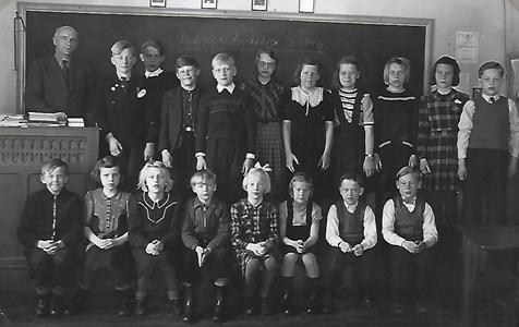 Mulseryds skola 1945