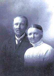 Helgabo, Johan August Johansson och Maria Forsander