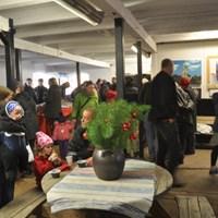 Julmarknad på Björkdals gård, Muskö.