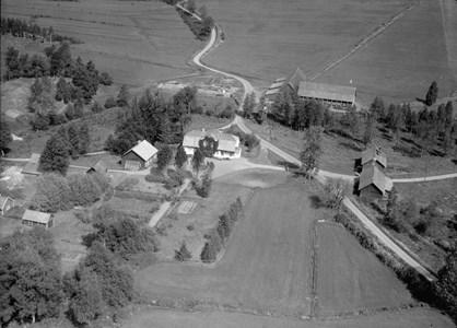 Bo gård, flygfoto 1947