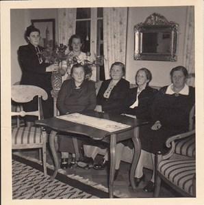 Nanny Fallenius 75 år