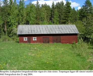 Bengtsbo. Ladugård.