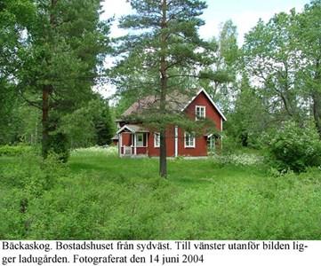Bäckaskog, Bostadshus.