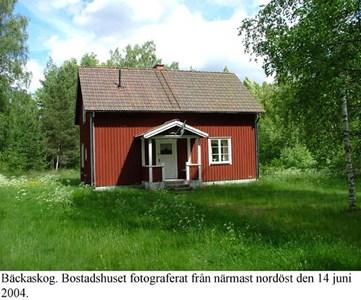 Bäckaskog. Bostadshus.