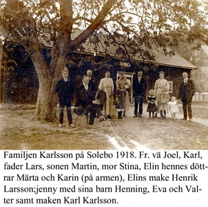 Sålebo. Fam Karlsson.