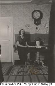 Nybygget. Margit Duritz.