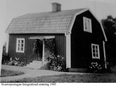 Svärdstorpstugan. Boningshus ca 1945.