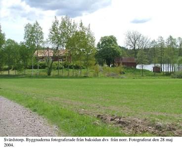 Svärdstorp. Gården från norr.