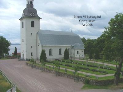 Norra Vi kyrkogård.
