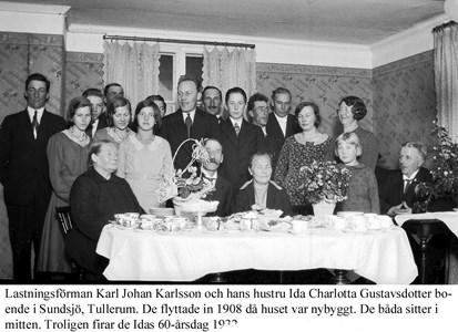 Karl och Ida Karlsson i Sundsjö.