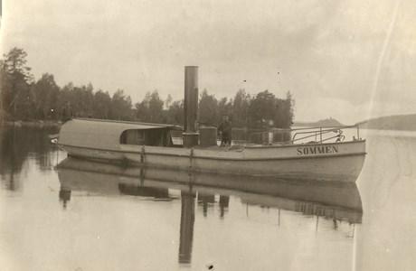 Båten Sommen.