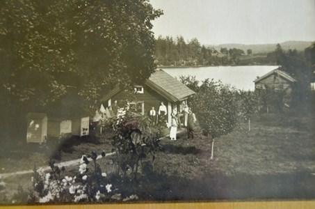 Sjöstugan gamla bebyggelsen