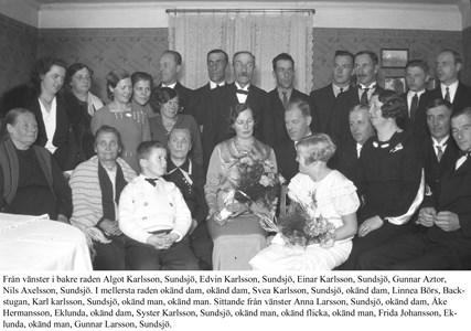 Syster Karlssons bröllop i Sundsjö