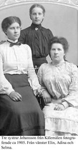 Elin, Ada, Selma Johansson.