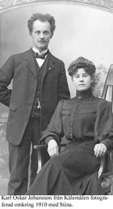 Karl Oskar och Stina.