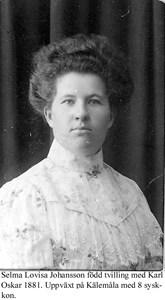 Selma Johansson.