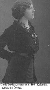 Gerda Johansson.