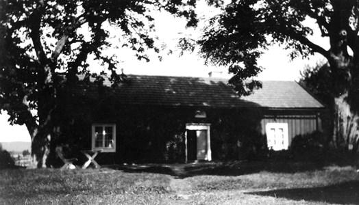 Solebo gamla byggnad.