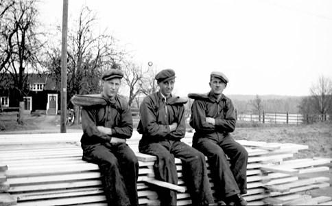 Norrnäs sågverksarbetare