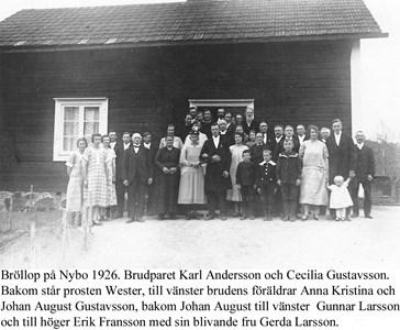 Bröllop i Nybo.