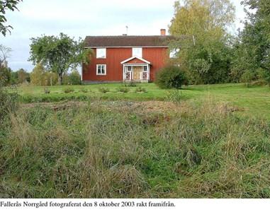 Fallerås Norrgård. Framsida