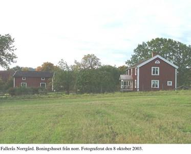 Fallerås Norrgård. Gavelsida