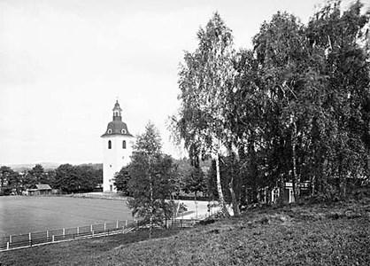 Norra Vi kyrka 1920 ca.