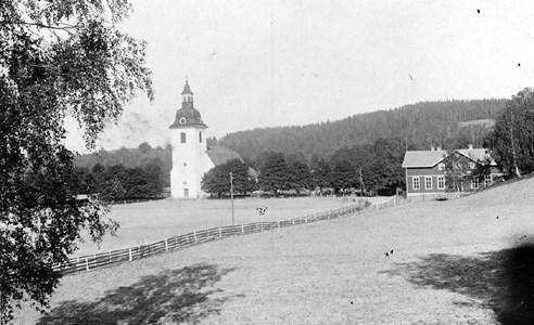 Norra Vi kyrka 1940-tal