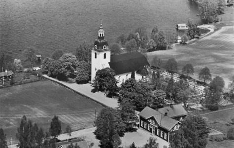 Norra Vi kyrka 1960-tal
