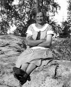 Norrnäs. Gerda Pettersson.