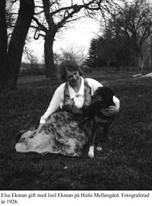 Hult. Elsa Wisted-Ekman.