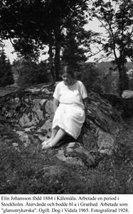 Elin Johansson.