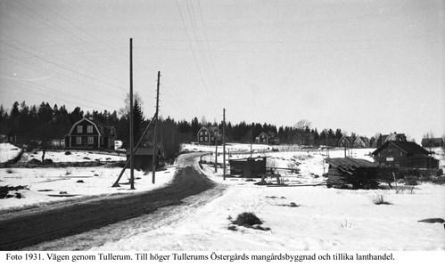 Vy över Tullerum från söder.
