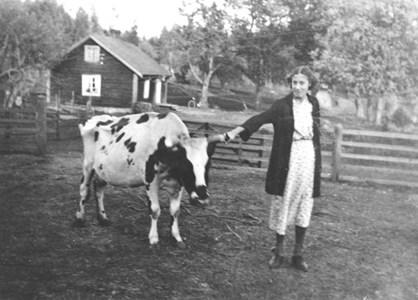 Lisa Johansson i Slätthult..